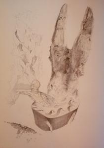 2011 Stopař tužka na papíře 100 x 70 cm (2)