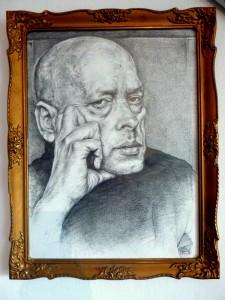 2018 Miloš kříž, tužka na papíře, 30 x 40 cm