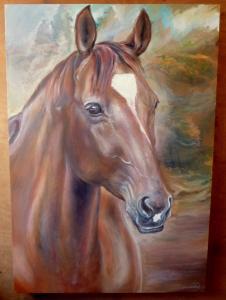 2014 Granada olej na plátně 90 x 70 cm