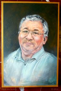 2016 Zdenek akryl na plátně 60 x 40 cm