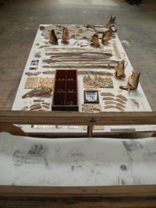 2012 Diplomová práce Trofeje - instalace (detail)